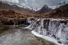 Frozen Fairy Pools (Joey Hodgson) Tags: sony sonya55 sonycamera fairy pools fairypools frozen frozenwaterfalls water waterfalls snow mountains isleofskye scotland ice joeyhodgsonphotography landscape landscapephotography photography