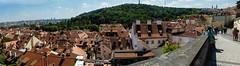 praga, panorama dal castello (violica) Tags: praga prague praha unesco unescoheritage repubblicaceca czechrepublic česko pražskýhrad castellodipraga praguecastle