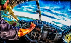 The Iconic Canadian Beaver (SteveSchwarzPhotography) Tags: airplanes dhc2 jennejohn lenses samyang8mm yellowknife canadianaviation canadian icon flying bushpilot bushplane beaver canoeing popart floatplane