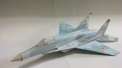 Flyable Mikoyan MiG-29 Free Aircraft Paper Model Download (PapercraftSquare) Tags: aircraftpapermodel flyable mig29 mikoyan mikoyanmig29