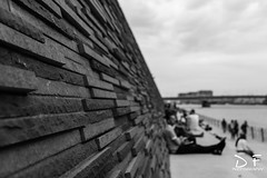 Chillin at the Rhine in Cologne (DF.Photography) Tags: rhine cologne chillin blackandwhite