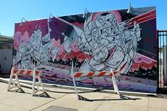 Coney Island - Coney Art Walls: Catch of the Day by How & Nosm (wallyg) Tags: brooklyn coneyartwalls coneyisland hownosm howandnosm kingscounty newyork newyorkcity ny nyc streetart mural catchoftheday