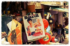 Bruce Lee (C. Alice) Tags: summer street market bw color china nostalgia 2016 ilce6000 sony a6000 sonya6000 sonysel1670zcarlzeissvariotessart tessar zeiss carlzeiss hongkong asia
