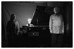 Philip Corner & Phoebe Neville @ Cafe Oto, London, 19th September 2016 (fabiolug) Tags: candles candle philipcorner phoebeneville piano pianoforte pianist composer fluxus cafeoto london dalston music gig performance concert live livemusic leicammonochrom mmonochrom monochrom leicamonochrom leica leicam rangefinder blackandwhite blackwhite bw monochrome biancoenero 35mmsummicronasph 35mmf2summicronasph summicronm35mmf2asph summicron35mmf2asph 35mm summicron leicasummicron leica35mm