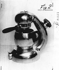 """06.06.50 - IT35916 - Giordano Robbiati - Macchina per la preparazione di caff in bevanda, a filtro sovrapposto e coassiale alla caldaia, e sostenuto da un braccio curvilineo raccordato ad entrambe dette parti"""" (www.giordanorobbiati.com) Tags: atomic austria badge bon brevettata brevetti britain budapest cafetera chabeuil classic coffee croci desider design electa electric elekta england era espresso etna express france g gdv giordano gorrea great hogar hungary imre industria instruction instructions italy kitchen la leaflet leaflets london lucullus m machine made maker manual manuals martian mg milan milano minipress nec original patent piccolo qualital robbiati sassoon simon sorrentina stella stern stovetop szigony tar tarditi trading vienna wien libretto depliant booklet"""
