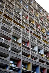 Le Corbusier la maison radieuse Reze les Nantes - atana studio (Anthony SÉJOURNÉ) Tags: le corbusier corbu modulor bauhaus beton maison radieuse reze nantes atana studio anthony séjourné