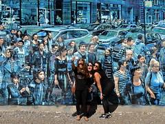 Everybody's Watching (Eddie C3) Tags: newyorkcity lowereastside eastvillage houstonstreet houstonbowerywall streetart loganhicks streetscenes thestoryofmylife
