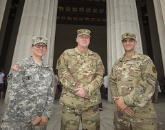 SFC Ahern re-enlistment 7 (Armed Services Blood Program) Tags: armedservicesbloodprogram asbp sfc ahern sgt 1st class john fahie captain army blood