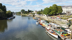 The View from Richmond Bridge (Barry C. Austin) Tags: richmondlock riverthames