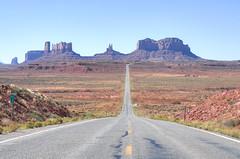 Mile Marker 13 (Ray Devlin) Tags: utah monumentvalley monument valley desert american americana americandesert south west sand erosion butte rock red dry nikon d300 nikond300 milemarker13 mile marker 13 highway road