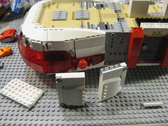 SHIPtember 2016 WIP - 24a (DJ Quest) Tags: lego shiptember 2016 space ship spaceship moc wip belly work