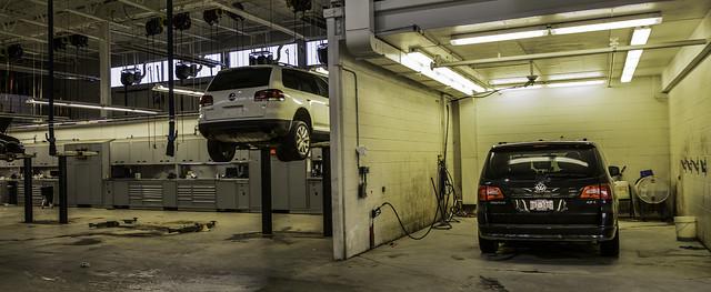 panorama shop vw volkswagen bay tech pano clean wash workshop repair technician mechanic touareg washbay smcpfa31mmf18 routan