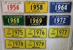 MARSH PYSAR'S ALBERTA LT. GOVERNOR PLATES (woody1778a) Tags: world auto canada cars car sign vintage edmonton photos tag woody plate tags licenseplate collection number photographs alberta license plates foreign numberplate licenseplates numberplates licenses cartag carplate carplates autotags cartags autotag foreigns ltgovernor pl8s worldplates worldplate foreignplates platetag