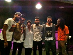Miguel and his band