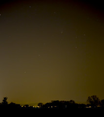 Panstarrs Comet (Tim Burgess : Perfexeon) Tags: sky night stars common comet lightpolution greenham panstarrs