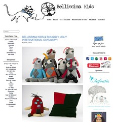 BELLISSIMA KIDS & SNUGGLY UGLY INTERNATIONAL GIVEAWAY! (snuggly Ugly) Tags: kids international giveaway ugly snuggly bellissima snugglyugly bellissimakids