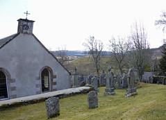 Dunlichity Church RX100 (6) (MikeBradley) Tags: scotland highlands oldburialground dunlichitycemetary dunlichity dunlichityburialground