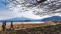 Family Trip (notjustnut) Tags: travel mountain lake japan landscape fuji traveller fujisan ropeway mtfuji kawaguchilake