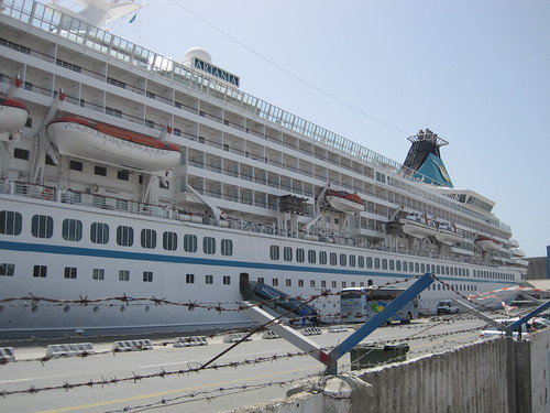 MV Artania cruise ship