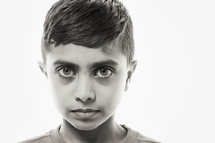 I (Martinus Photography) Tags: boy portrait people blackandwhite bw white black face look fashion closeup youth contrast digital copenhagen lens denmark photography bigeyes moving kid high model eyes nikon europa europe foto child close martin faces emotion expression great young best professional stunning d200 emotional scandinavia danmark kbenhavn 2870mm nikond200 nikon2870mm mounzer martinmounzer martinmounzerphotography