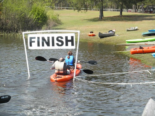 """Paddlers at the finish • <a style=""""font-size:0.8em;"""" href=""""http://www.flickr.com/photos/85839940@N03/8637833652/"""" target=""""_blank"""">View on Flickr</a>"""