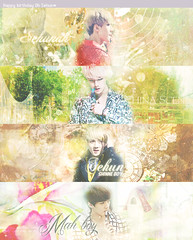 HPBD Oh Sehun ♥ Tình yêu lớn nhất đời tôi <3