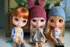 Three Vainilla Sisters Hanging Out
