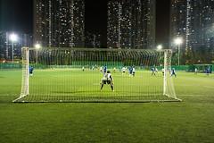 """""""夜間足球 Nighttime Football (Soccer)"""" / 香港體育男運動員 Hong Kong Men in Sports / SML.20130413.6D.00556"""