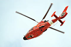 U.S. Coast Guard Helicopter (CleanCletus) Tags: coastguard oregon helicopter coosbay