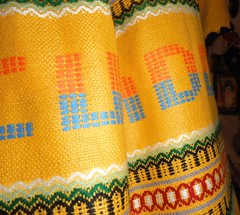 MADE IN ECUADOR (RubyGoes) Tags: yellow dress frock