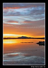 Dorada Salina ( Marco Antonio Soler ) Tags: santa sunset espaa seascape clouds reflections landscape atardecer gold spain nikon iso enero alicante nubes jpg atardeceres 13 ocaso hdr pola salina dorada 2013 d80 blinkagain reflejps