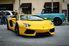 Giallo Orion (Matthew C. Photography) Tags: lamborghini aventador lp7004 700 horsepower giallo orion yellow black wheels calipers italy italian 65 liter v12 12 cylinder celebration exotic car rally 2013 matthew c photography nikon d3200 35mm f18