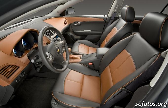 2009 Chevrolet Malibu ltz interior