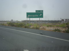 I-10 East - Exit 151 (sagebrushgis) Tags: newmexico sign mesquite intersection i10 biggreensign freewayjunction