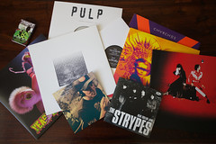 Record Store Day (aurélien.) Tags: elephant records toy vinyl tape elliottsmith pulp cassette rsd whitestripes thewhitestripes yeahyeahyeahs brianjonestownmassacre mgmt bjm thehorrors cassingle canonef1635mmf28liiusm ef1635mmf28liiusm aliendays canoneos5dmarkii roughtradeeast rsd13 recordstoreday eos5dmarkii thestrypes chvrches rsd2013
