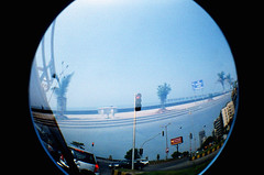Marine Lines Love (raspberry dolly) Tags: india film lomography fisheye mumbai lomofisheye