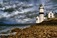 Cloch Lighthouse (Buddie Guy) Tags: nikon hdr inverclyde clochlighthouse d3100