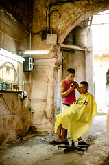 Cuba:2013 // Barber alley (@lifebypixels) Tags: travel people santafe walking photography nikon candid cuba group review culture streetphotography lifestyle exploration 2013 d7000 lifebypixels markheapsphotography