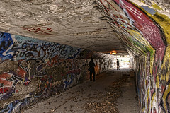 Rob Ford's Nightmare (Ben Roffelsen Photography) Tags: park light toronto ford underpass concrete graffiti paint tunnel rob monarch end blogto torontoist of