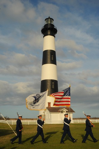 Color Guard- Bodie Island Lighthouse