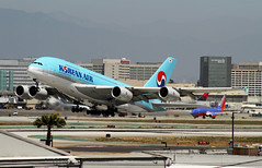 Korean Airlines, Airbus A380-800 (Ron Monroe) Tags: airbus a380 lax airlines airliners koreanairlines klax hl7615