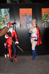 WonderCon 2013 (RayCisco) Tags: dccomics anaheim harleyquinn powergirl wondercon2013