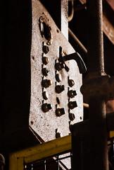 Sloss Furnaces 2013, skip hoist control panel (divemasterking2000) Tags: industry pig al birmingham iron industrial alabama landmark historic national april furnace ore apr birminghamal ironore sloss blastfurnace smelting pigiron furnaces slossfurnaces 2013 blastfurnaces
