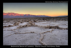 Badwater - Death Valley National Park (Prith_B) Tags: sunrise landscape badwater badwaterbasin deathvalleynationalpark tamron1750mm canon7d