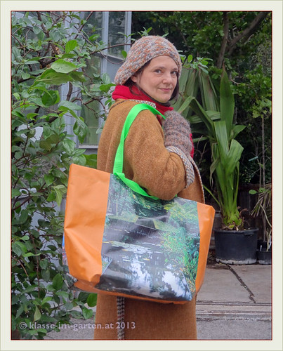 Botanischer Garten Wien Raritaetenboerse, modeln fuer die taschen am stand der angewandten 2013-04