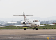 Hawker 800XP G-CDLT (vaughaag) Tags: airport sony sigma international exeter 70200 f28 hawker a77 800xp gcdlt