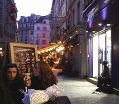 In rue de Buci, Paris, 20 April 2013 (allhails) Tags: paris france leftbank rivegauche ruedebuci 20apr13