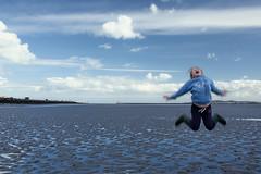 pep in my step (zip po) Tags: ireland sea sky dublin clouds spring child clontarf utata:project=tw366