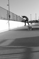 Richard Levy (SantiagoMoreno) Tags: shadow blackandwhite beautiful shadows skateboarding style ollie skatepark skate beast backside tailside