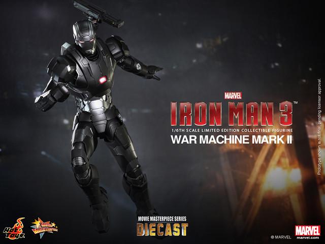 Hot Toys - MMS198D03 - 鋼鐵人3:1/6比例 戰爭機器馬克2
